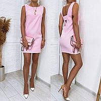 Женское платье  Розовый
