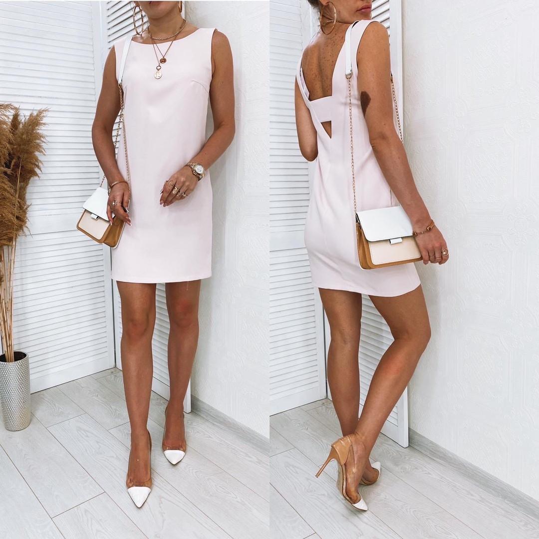 Женское платье Светлый нюд