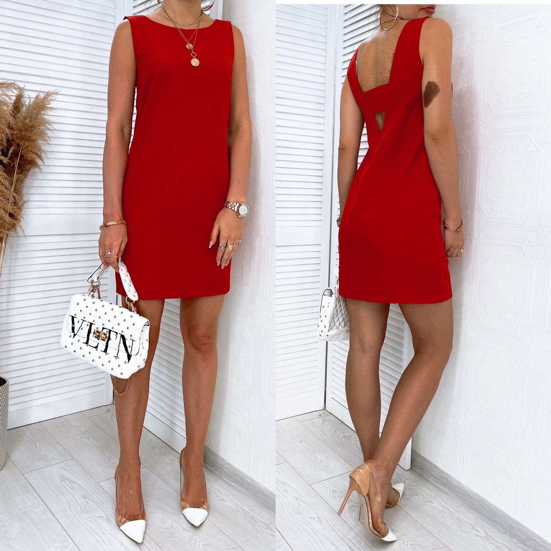 Женское платье Красный