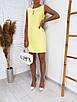 Женское платье Желтый, фото 3