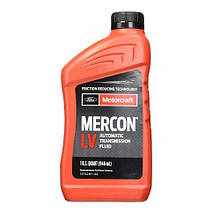 Трансмиссионное масло для 6 ст автомата Ford Motorcraft Mercon LV 0.946 л.