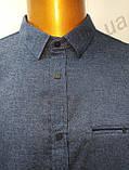 Мужская рубашка,Батал, Amato. AG. 29397-2(s). Размеры: 2XL,3XL,4XL,5XL., фото 5