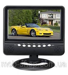 """Автомобільний портативний телевізор NS-901 USB великий екран 9,5"""""""