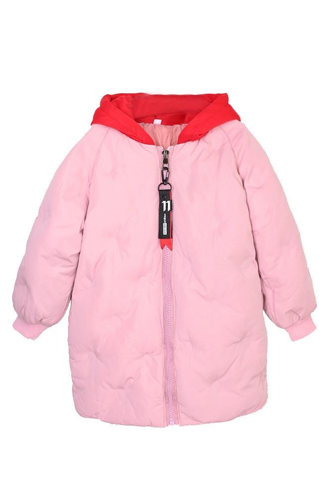 Куртка детская пудра Fashion 18401/1