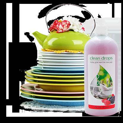 """Гель для миття посуду """"Лісові ягоди"""" 1 л"""