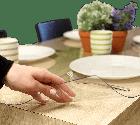 Прозрачная силиконовая скатерть на стол Soft Glass Защита для мебели 1.0х2.7 м Толщина 1.5 мм Мягкое стекло, фото 2