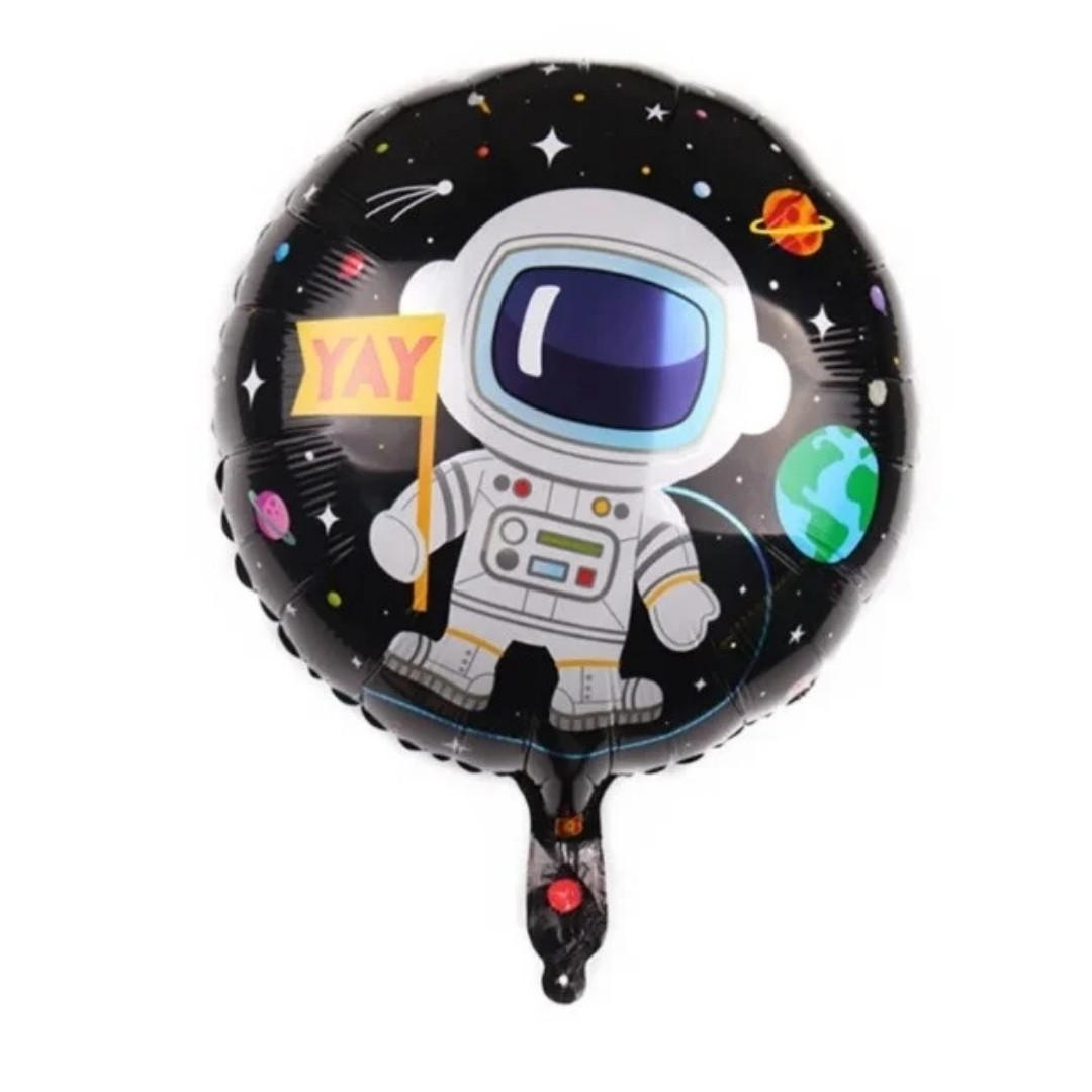 """Кулька фольгований цілий Космос 45 см 18"""""""