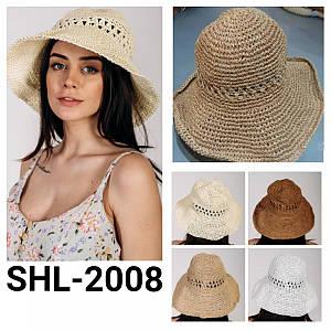 Шляпа слауч Джанет оптом Shl 2008