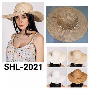Шляпка широкополая Пегги оптом Shl 2021