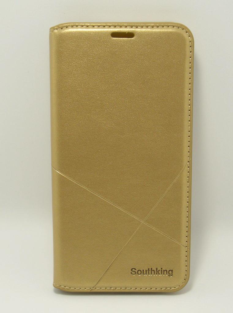 Чехол-книжка для смартфона Samsung Galaxy A51 2020 A515 золотая MKA