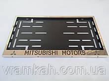 Номерна рамка для авто MITSUBISHI MOTORS