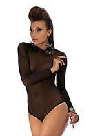 Боди женское моделирующее. Красивое боди из мелкой сеточки. Черный цвет, все размеры. Опт и розница. Украина.