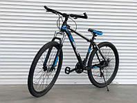 Спортивный скоростной велосипед  TopRider Pelle 611 синий 29 дюймов