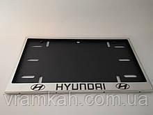 Номерна рамка для авто HYUNDAI
