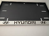 Номерная рамка для авто HYUNDAI, фото 3