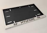 Номерная рамка для авто HYUNDAI, фото 4