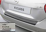 Пластикова захисна накладка на задній бампер для Mercedes-Benz A-Class W176 2015-2018, фото 4