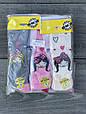Детские колготы хлопок KBS принцесса для девочек 6 шт. в уп. микс 3х цветов, фото 5