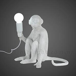 Настольная лампа Обезьяна  909-VXL8051B WH