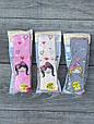 Дитячі колготи бавовна KBS принцеса для дівчаток 1,3 року 6 шт. в уп. мікс 3х кольорів, фото 4