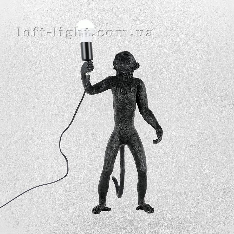 Настольная лампа Обезьяна  909-VXL8051C BK