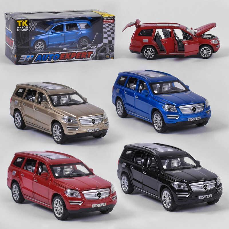 "Джип металлический 23426 W (96/2) ""Auto Expert"", 4 цвета, в коробке"