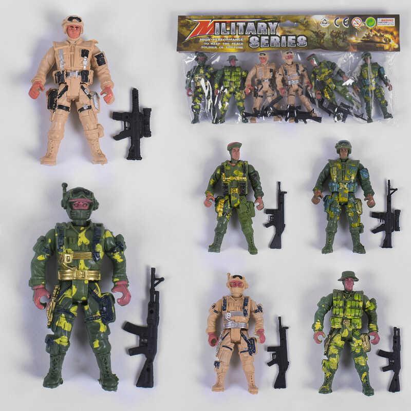 Набор солдатиков 914-16 A (240) в кульке