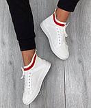 Стильные женские кроссовки белые летние, фото 2