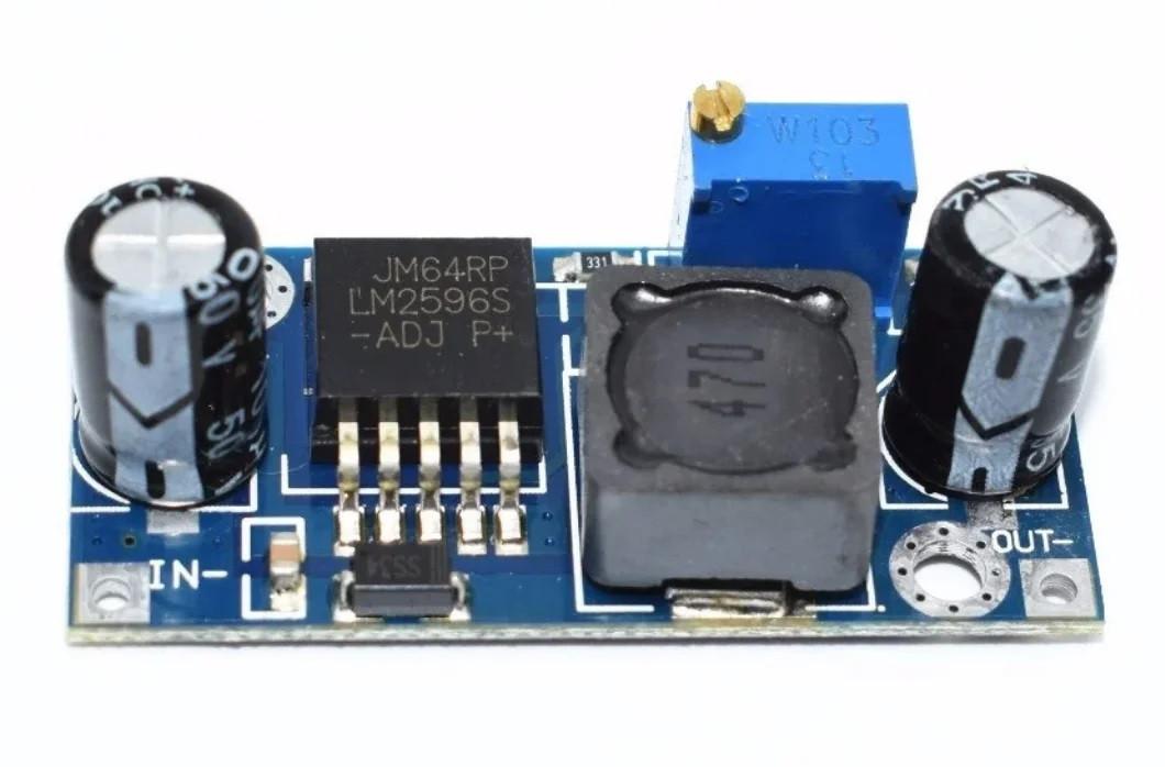 LM2596S регульований стабілізатор step down