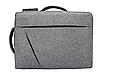 Сумка-рюкзак трасформер для ноутбука 15.6 дюймов, фото 5