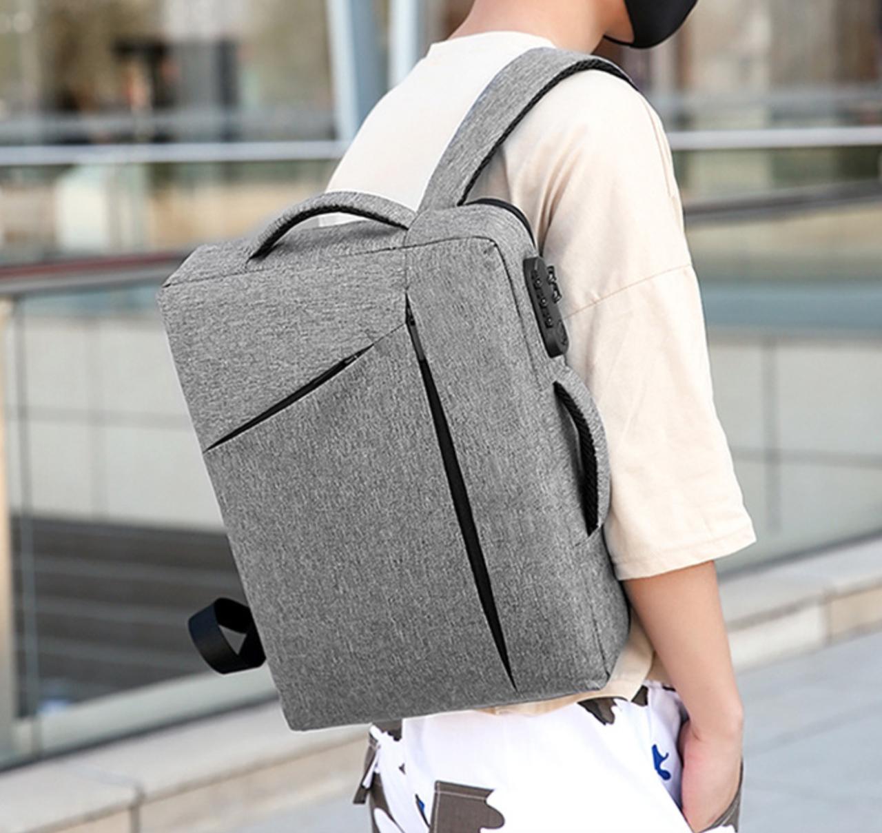 Сумка-рюкзак трасформер для ноутбука 15.6 дюймов