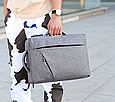 Сумка-рюкзак трасформер для ноутбука 15.6 дюймов, фото 7