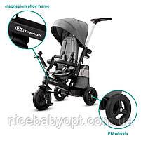 Триколісний велосипед Kinderkraft Easytwist Platinum Grey, фото 8