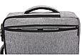 Сумка-рюкзак трасформер для ноутбука 15.6 дюймов, фото 8