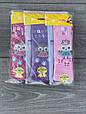 Колготи KBS Happy Chik дитячі бавовна для дівчаток 3 років 6 шт. в уп. мікс 3х кольорів, фото 3