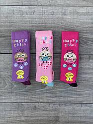 Колготи KBS Happy Chik дитячі бавовна для дівчаток 3 років 6 шт. в уп. мікс 3х кольорів