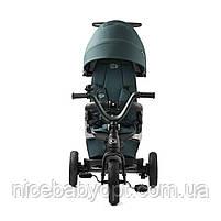 Трехколесный велосипед Kinderkraft Easytwist Midnight Green, фото 6