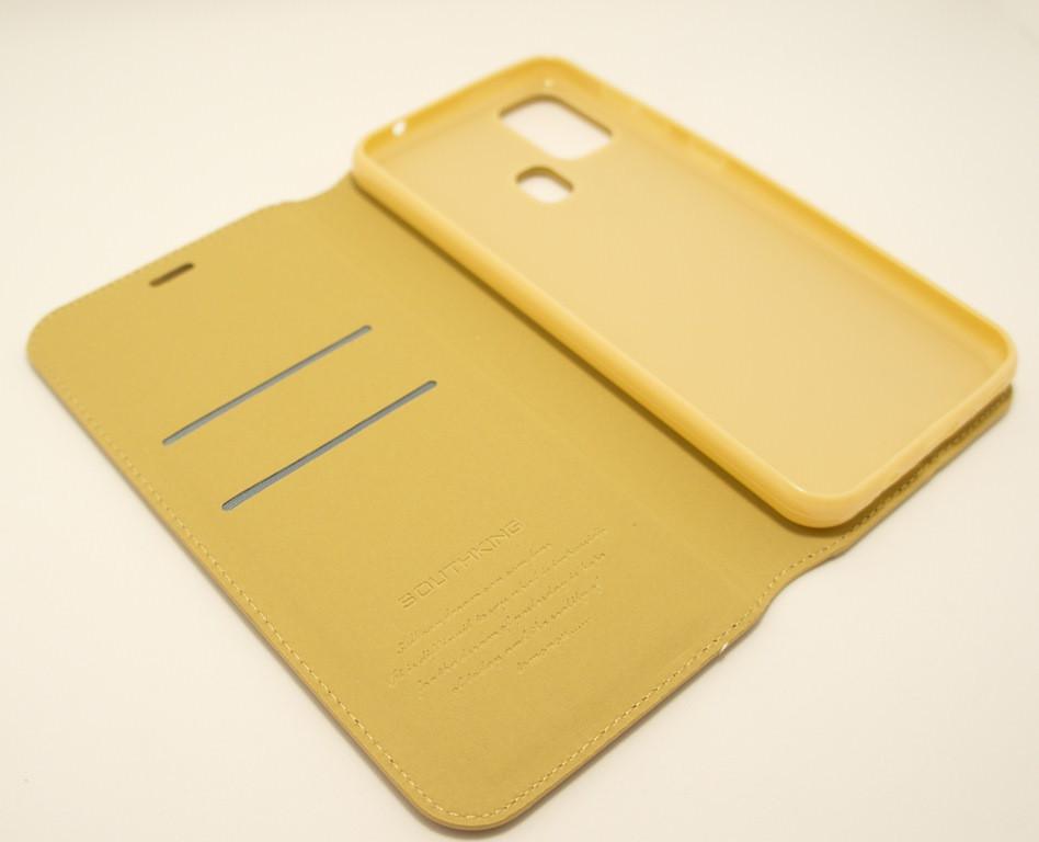 Чохол-книжка для смартфона Samsung Galaxy M31 2020 M315 золота MKA