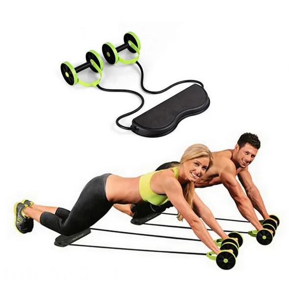 Тренажер для всего тела, пресса, рук, ягодиц REVOFLEX XTREME с 6 уровнями тренировки