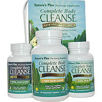 Полное Очищение Организма, Программа на 14 Дней из 3 Частей, Natures Plus
