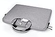Сумка для ноутбука 15.6 дюймов Темно-синий, фото 8
