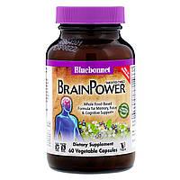 Комплекс Поддержки для Мозга, Bluebonnet Nutrition, Targeted Choice, Brain Power, 60 растительных капсул