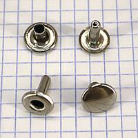 Хольнитен односторонний 12*12 мм никель a3749 (250 шт.)