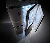 Холодильник  LG, оснащенный линейным инверторным компрессором