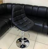 Барный стул B-45 черный искусственная кожа Vetro Mebel, фото 10