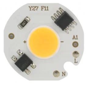 Светодиод 5Вт 220В - теплый белый