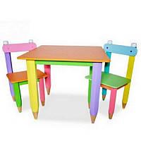 """Стол +2 стула """"Карандаш"""""""