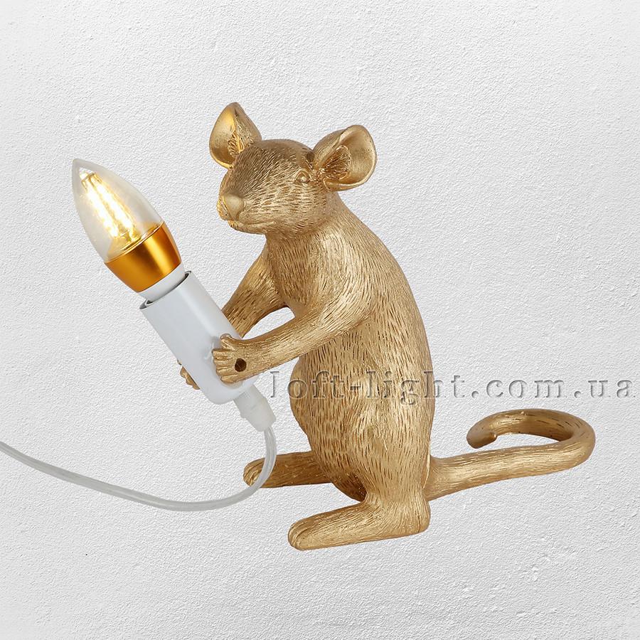 """Настільна лампа """"Миша"""" модель 909-VXL8065C GD"""