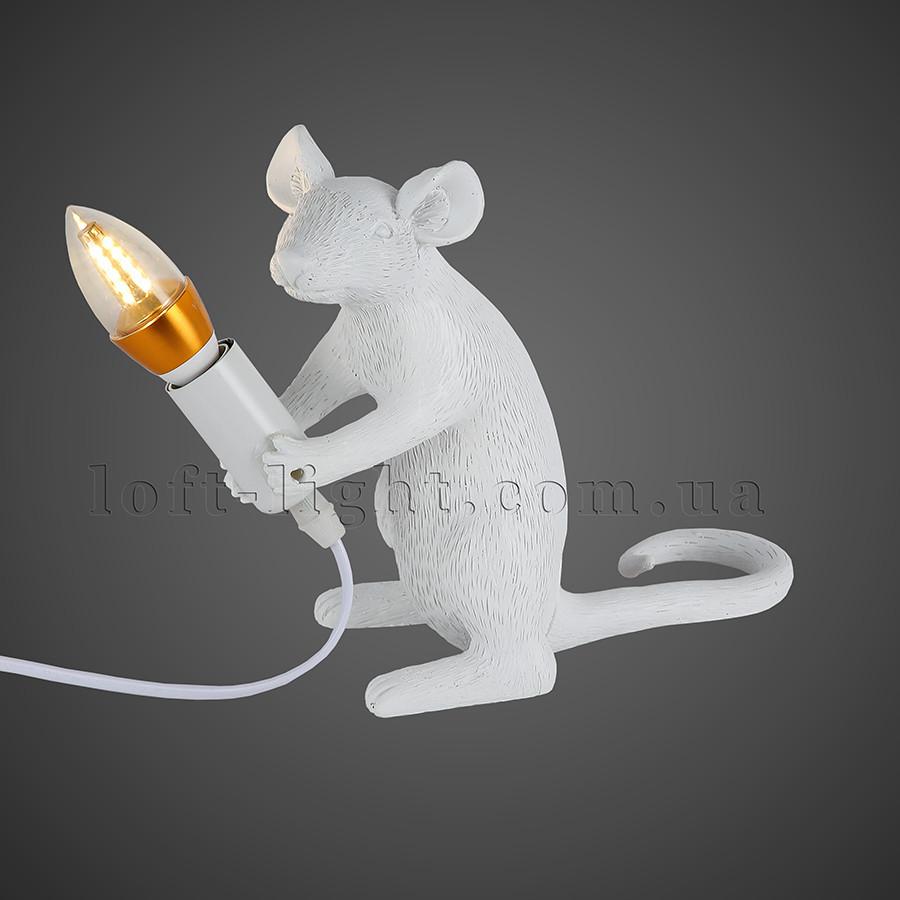 "Настільна лампа ""Миша"" модель 909-VXL8065C WH"