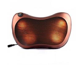 Масажна Подушка Massage Pillow 8028-4 ролика для голови і шиї